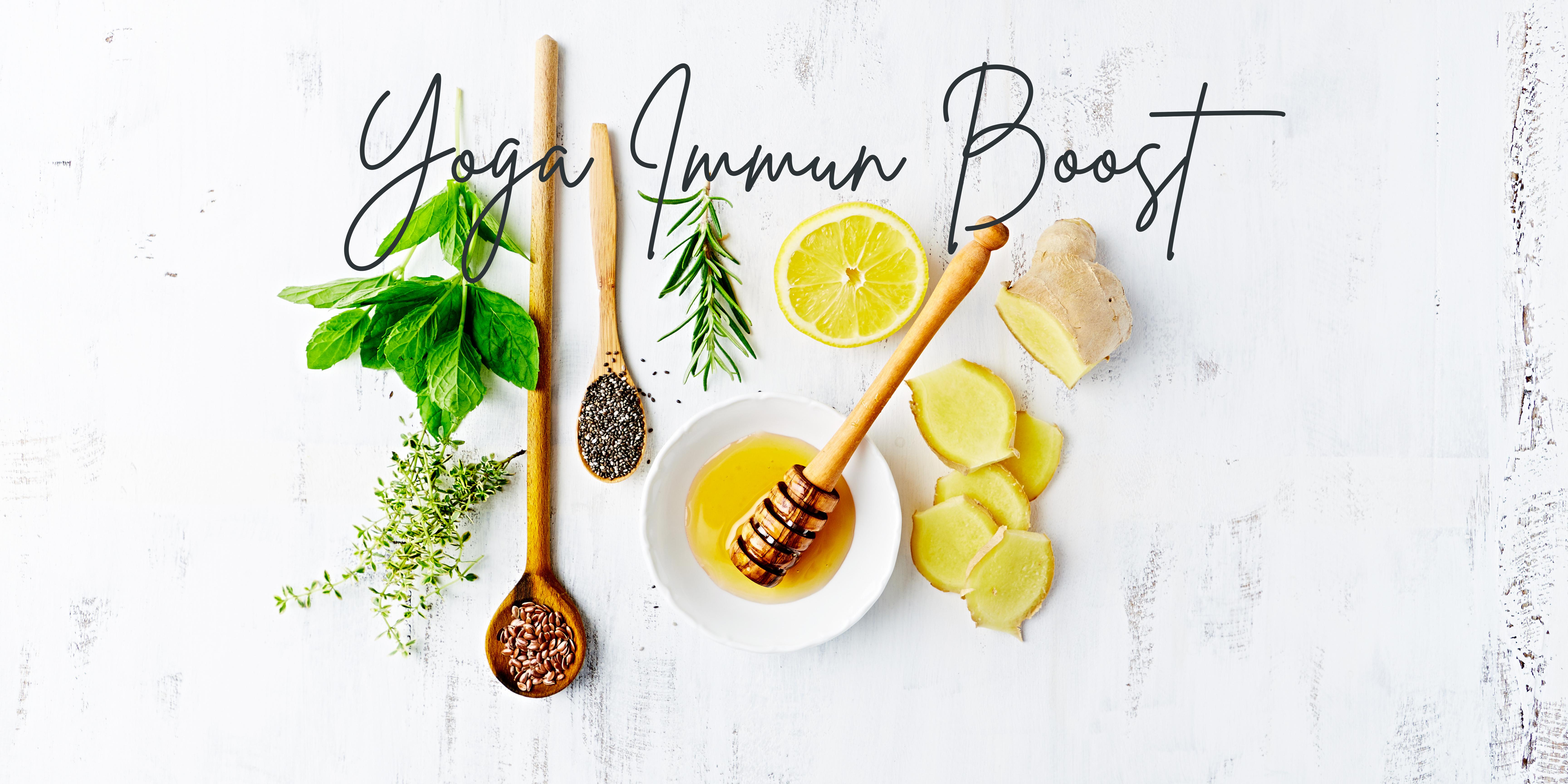 Yoga Immun Boost (2 timers yoga workshop + ebog)